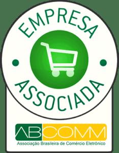 Selo empresa associada ABCOMM - Associação Brasileira de Comércio Eletrônico